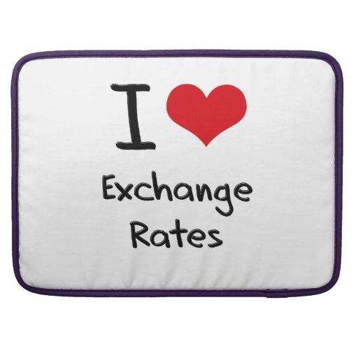 Amo los tipos de cambio fundas para macbooks