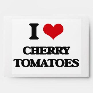 Amo los tomates de cereza