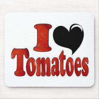 Amo los tomates tapetes de ratón