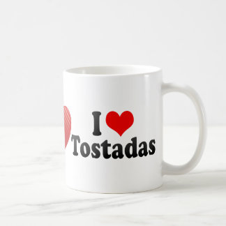 Amo los Tostadas Taza Clásica