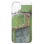 Amo los tractores verdes viejos iPhone 5 coberturas