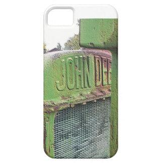 Amo los tractores verdes viejos funda para iPhone SE/5/5s