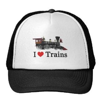 Amo los trenes gorra