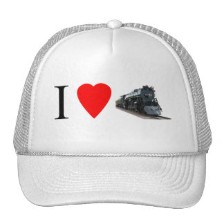 Amo los trenes gorras