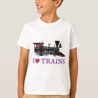 Amo los trenes playera