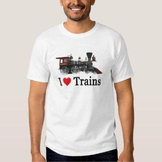 Amo los trenes remera