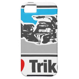 Amo los trikes - motocicletas iPhone 5 cárcasa