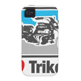 Amo los trikes - motocicletas iPhone 4/4S fundas