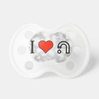 Amo los tubos del cuarto de baño chupetes