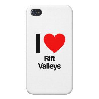 amo los Valles del Rift iPhone 4 Fundas
