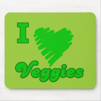 Amo los Veggies Tapetes De Raton