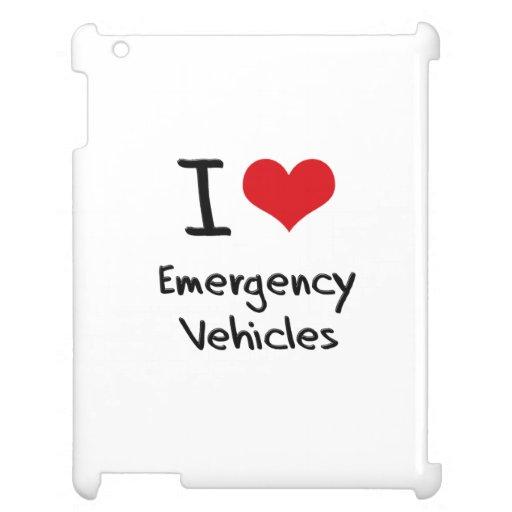 Amo los vehículos de la emergencia