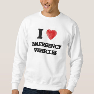 Amo los VEHÍCULOS de la EMERGENCIA Jersey