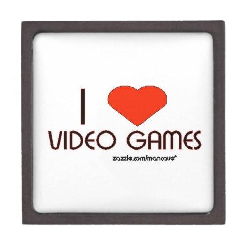 Amo los videojuegos caja de joyas de calidad