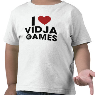 Amo los videojuegos camisetas