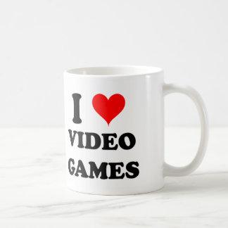 Amo los videojuegos taza