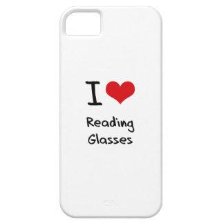 Amo los vidrios de lectura iPhone 5 Case-Mate protectores