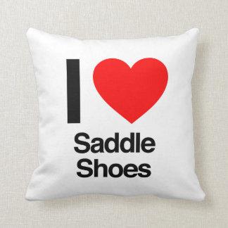 Amo los zapatos de silla de montar almohadas