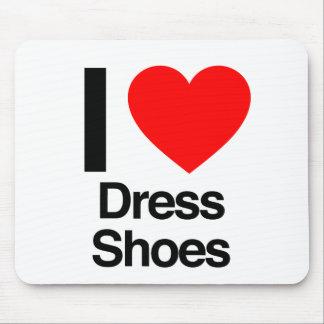 amo los zapatos de vestir alfombrillas de raton