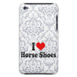 Amo los zapatos del caballo barely there iPod cárcasa