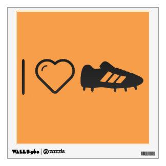 Amo los zapatos del fútbol