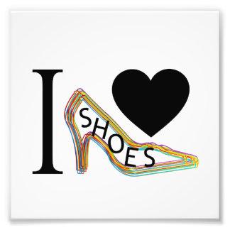Amo los zapatos fotografías