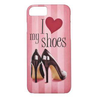 Amo los zapatos funda iPhone 7