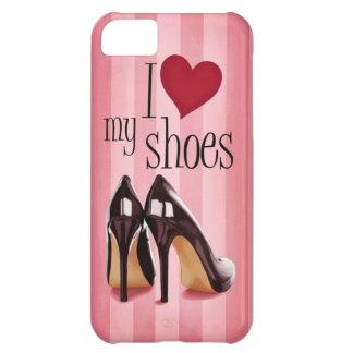 Amo los zapatos funda para iPhone 5C