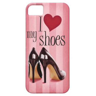 Amo los zapatos iPhone 5 carcasa