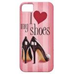 Amo los zapatos iPhone 5 Case-Mate cárcasas