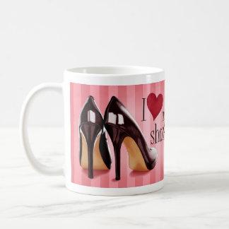 Amo los zapatos tazas de café