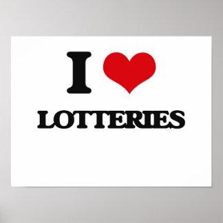 Amo loterías poster