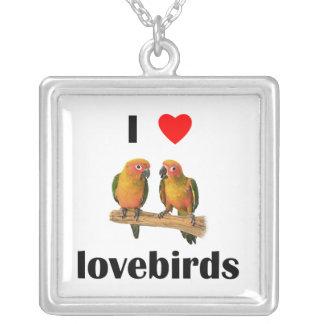 Amo Lovebirds Colgantes Personalizados