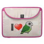 Amo Lovebirds Gris-dirigidos Fundas Para Macbook Pro