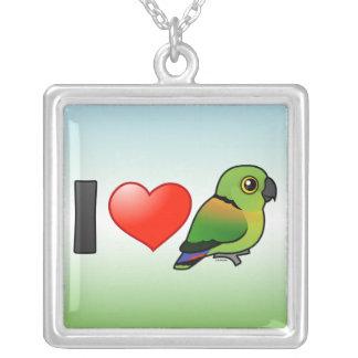 Amo Lovebirds Negro-agarrados Grimpolas Personalizadas