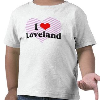 Amo Loveland Estados Unidos Camiseta