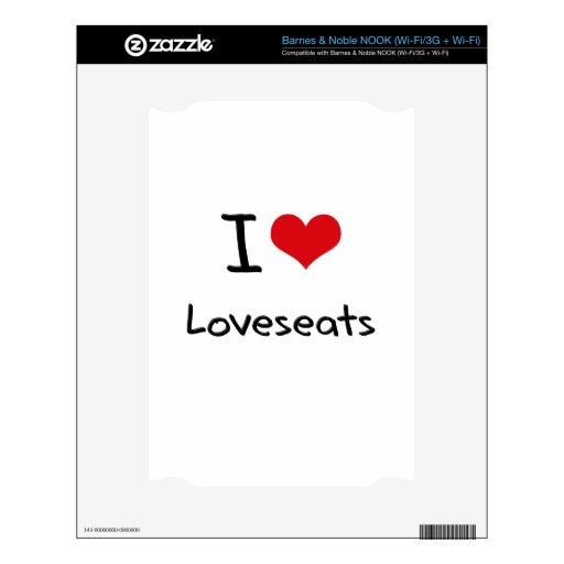 Amo Loveseats NOOK Skin