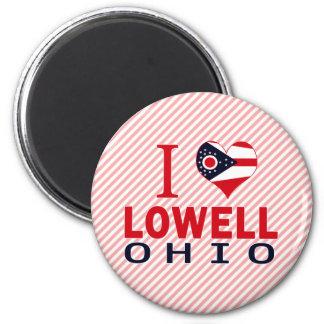 Amo Lowell, Ohio Imán Para Frigorifico