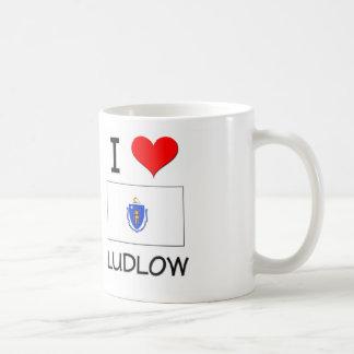 Amo Ludlow Massachusetts Tazas De Café