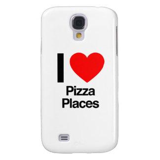 amo lugares de la pizza funda para galaxy s4