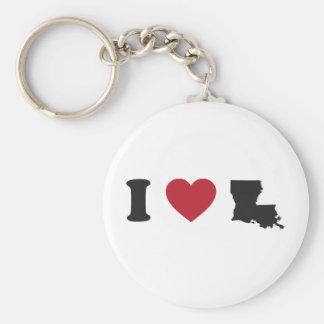 Amo Luisiana Llavero Redondo Tipo Pin