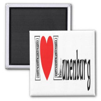 Amo Lunenburg Imán Cuadrado