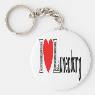 Amo Lunenburg Llavero Redondo Tipo Pin