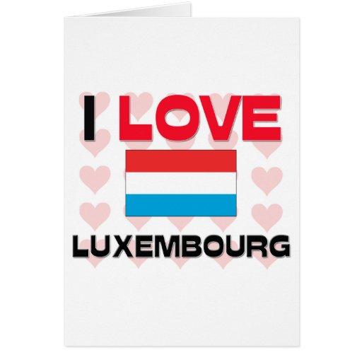 Amo Luxemburgo Felicitacion