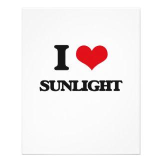 Amo luz del sol tarjeton