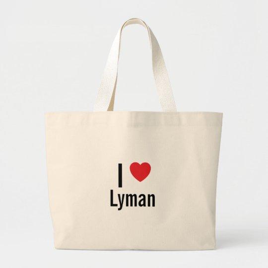 Amo Lyman Bolsa De Tela Grande