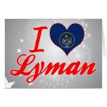 Amo Lyman, Utah Felicitacion