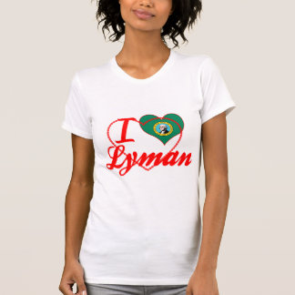 Amo Lyman, Washington Camisetas