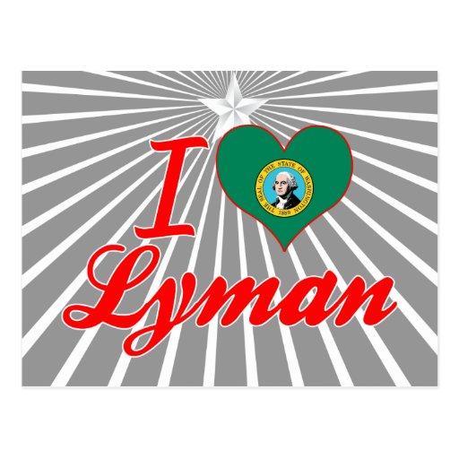 Amo Lyman, Washington Tarjetas Postales