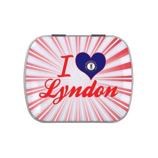 Amo Lyndon, Kentucky Latas De Dulces